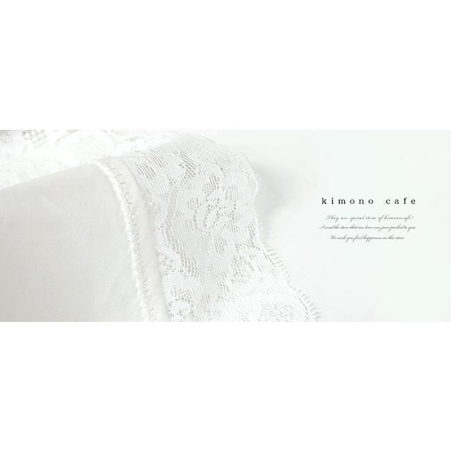 レンタル レンタル専用購入品 振袖用 レース付きスリップ ワンピース 肌着 肌襦袢 kimonocafe-y 02