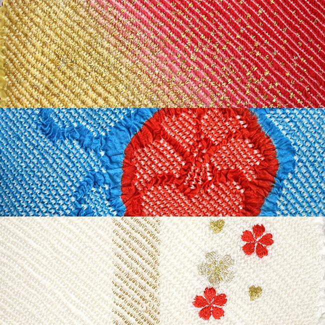 訳あり 帯揚げ帯締めセット 柄タイプ 正絹 輪出し ラメ 刺繍 ぼかし 総絞り 成人式 振袖 セット 礼装 帯揚げセット 帯締めセット|kimonocafe-y|04