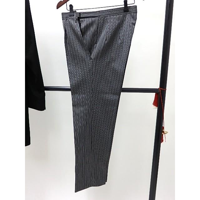男礼服823 フロックコート サイズAB2 3点セット レンタル処分品 貸衣装 中古 リサイク  メンズ フォーマル 礼服 フォトウエディング kimonodoraku 06