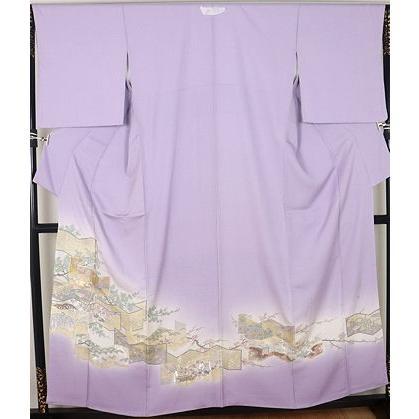 大人気新作 色留袖 正絹 寿光織 四季花屏風絵 ki23581 公式行事にはお着物で, Life&Design VIDA b55862fa
