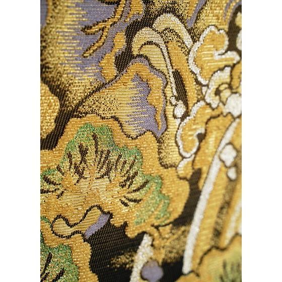 ひなや 特選創作金モール袋帯「松に滝」ゴールドフォーマル輪奈織袋帯 kimonotanaka 08