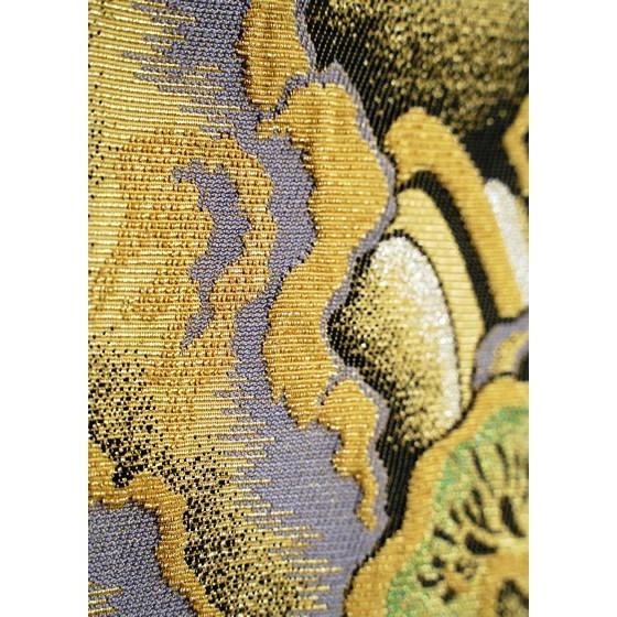 ひなや 特選創作金モール袋帯「松に滝」ゴールドフォーマル輪奈織袋帯 kimonotanaka 09