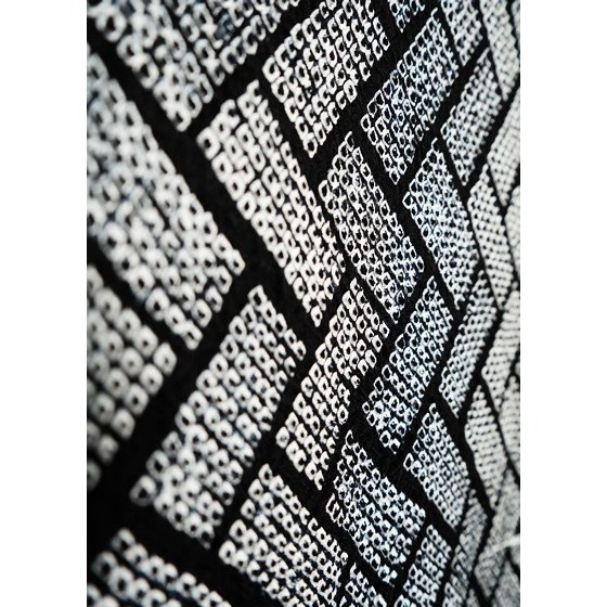 藤娘きぬたや 高級総絞り染小紋着尺「桧垣重ね文」名門絞りきもの|kimonotanaka|05