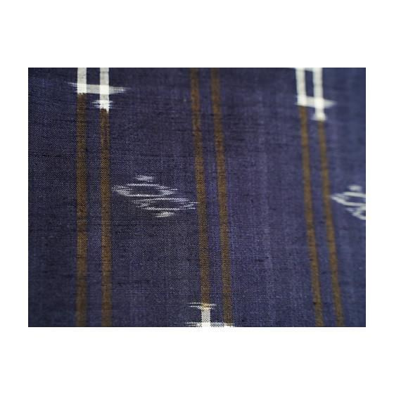 本場琉球かすり 特選琉球絣紬 藍染め kimonotanaka 08