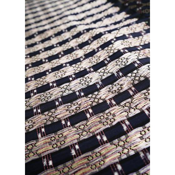 本場琉球 南風原花織紬着尺 贅沢紬 織の芸術 琉球染織美術工芸品|kimonotanaka|05