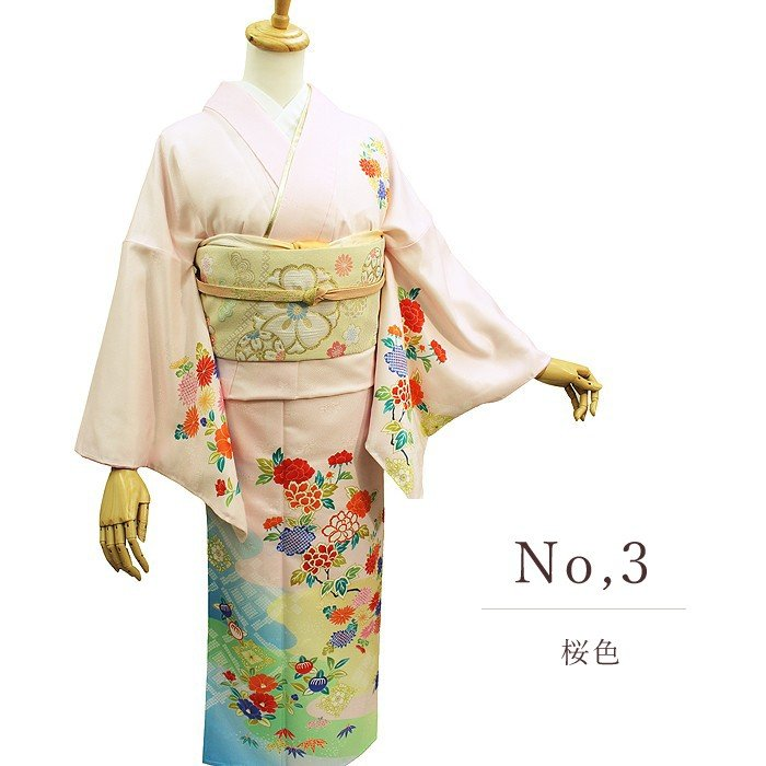 特価 訪問着 洗える着物 新品 結婚式 七五三 上品|kimonoyawakura|04