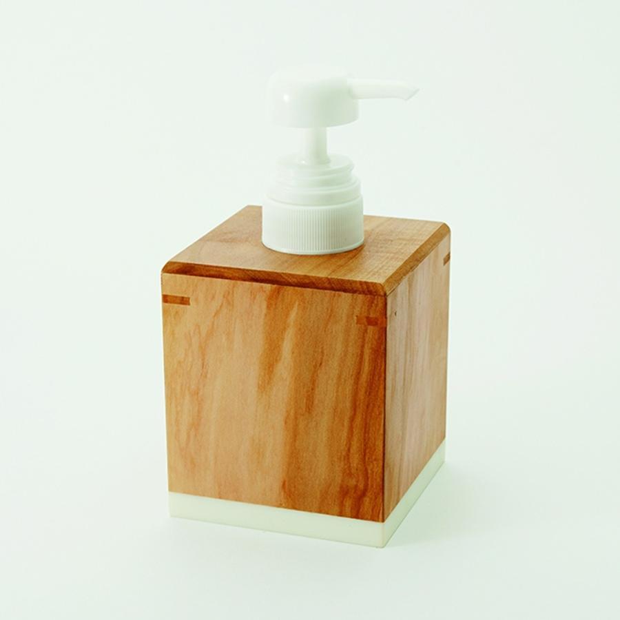 りんごの木のソープディスペンサー おしゃれ 木製 kimuramokuhin