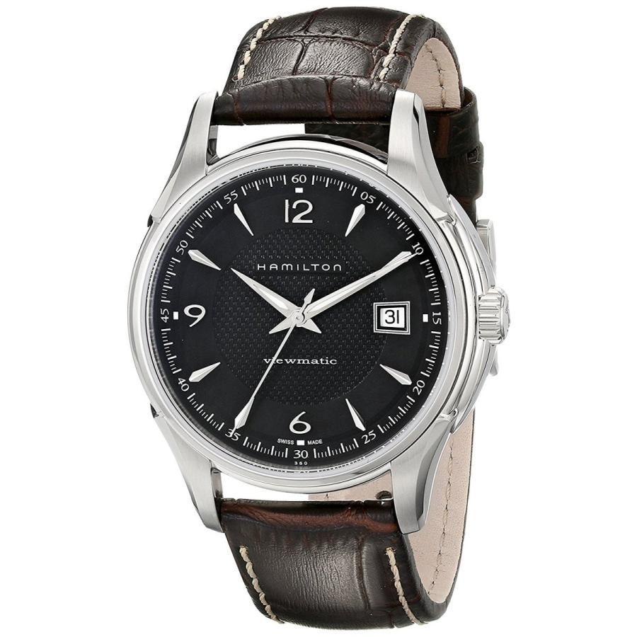 正規代理店 ハミルトン 腕時計 JAZZMASTER ジャズマスター ビューマチック メンズ H32515535, トップ学生服 bf4c2582