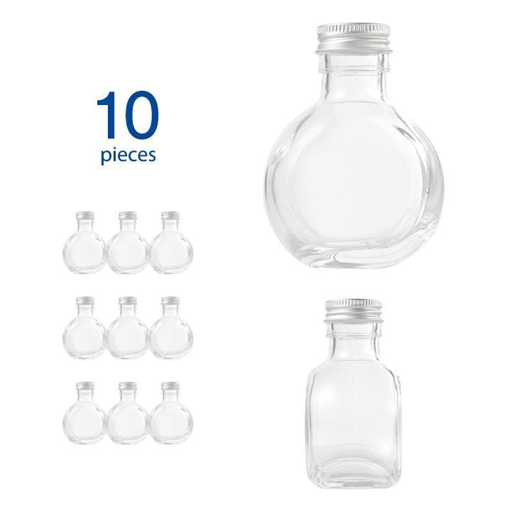 ハーバリウム瓶 サークル117ml 値下げ 10個セット 現金特価 フタ付き