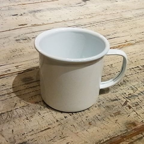 ホーローマグカップ 返品送料無料 今だけスーパーセール限定 ホワイト