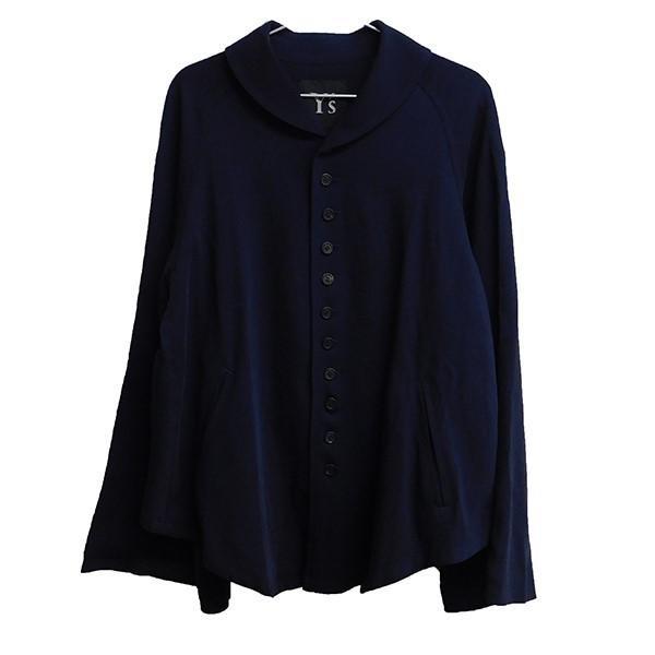品質は非常に良い Y'S ラウンドカラー 11ボタンジャケット ネイビー (三条堀川店) 191106, タツヤマムラ aeecce18