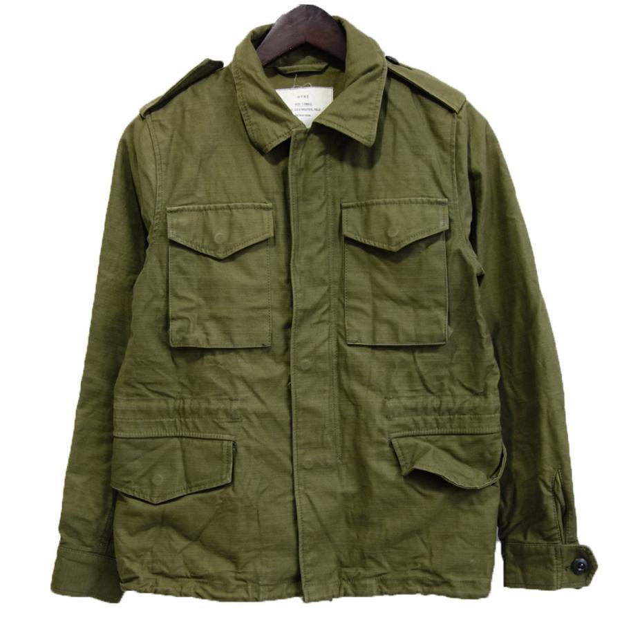 大人気の HYKE フィールドジャケット カーキ サイズ:1 (銀座店) 200102, FIVE MALL 2b85d22e