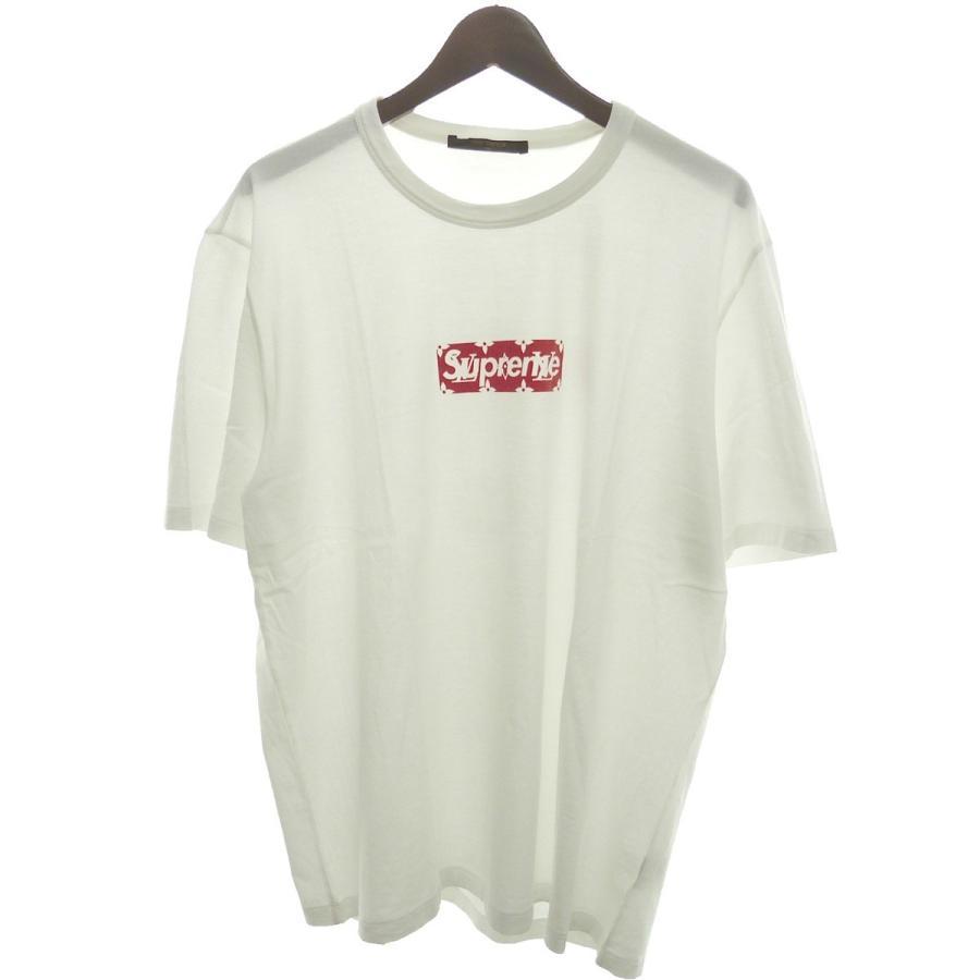 【新品本物】 Supreme×LOUIS (原宿店) VUITTON 17AW「Box Logo Tee」モノグラムBOXロゴTシャツ ホワイト ホワイト サイズ:XXL (原宿店) Logo 1, DIY庭用品家具「アモーレ」:82c9250b --- grafis.com.tr
