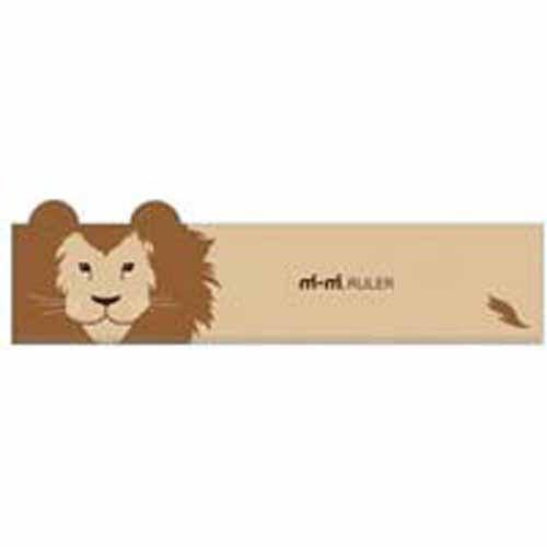 サカモト mimi RULER ライオン (定規)【メール便(追跡番号あり)でポストに投函】|king-depart