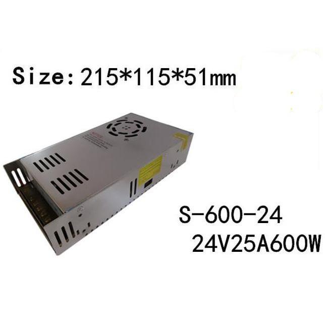 与え 新品 直流安定化電源 購入 600W スイッチング電源AC100V→24V25A