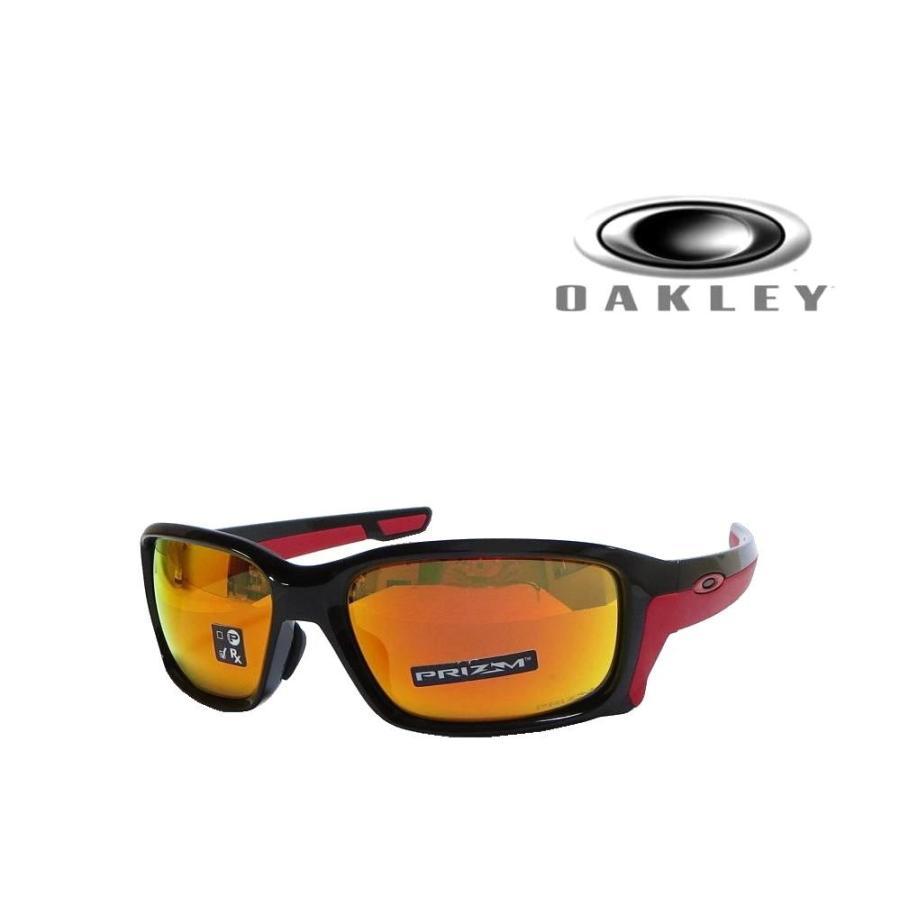 【OAKLEY】 オークリー サングラス  ストレイトリンク STRAIGHT LINK OO9336-06 PRIZM RUBY  国内正規品