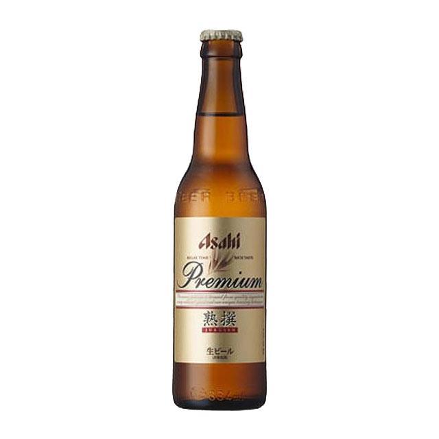 アサヒビール プレミアム熟撰 334ml小瓶×1本 国産ビール 瓶ビール|kinko-wine