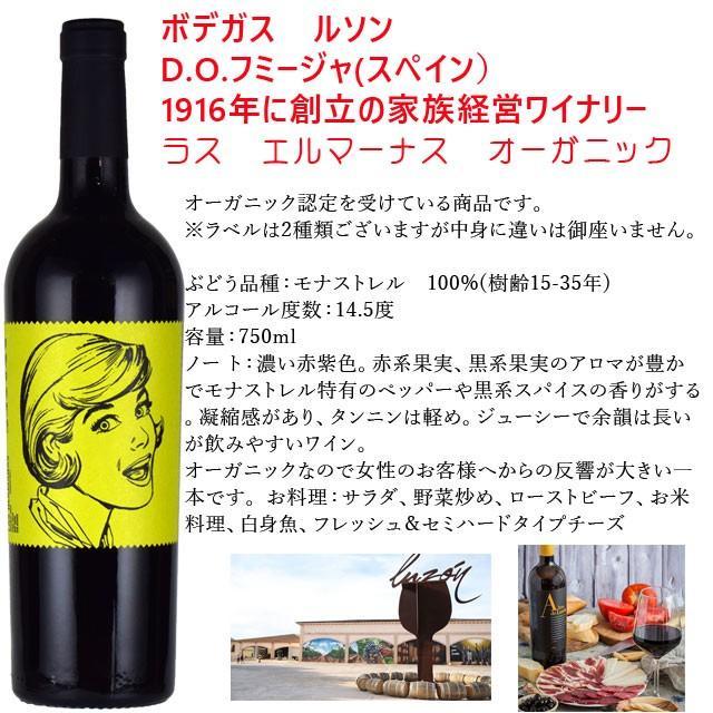 ボデガス・ルソン ラス・エルマーナス オーガニック 750ml赤 スペインワイン|kinko-wine|02