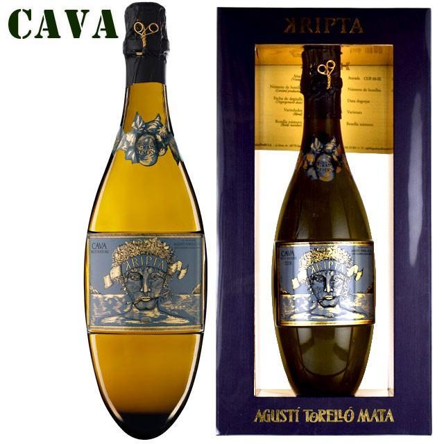 アグスティ・トレジョ・マタ クリプタ グラン・レゼルヴァ 750ml箱入り CAVA|kinko-wine