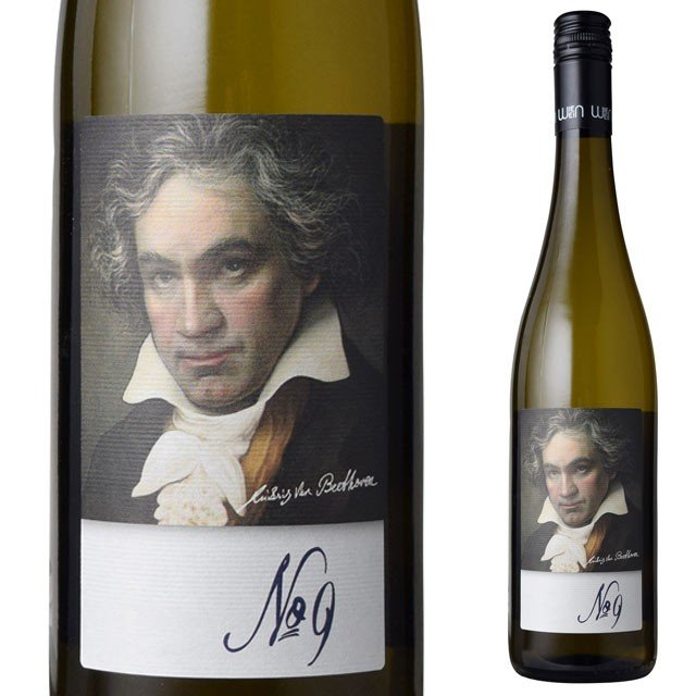 グリューナー・ヴェルトリーナー ベートーベン 第九 ラベル 750ml白 オーストリア kinko-wine
