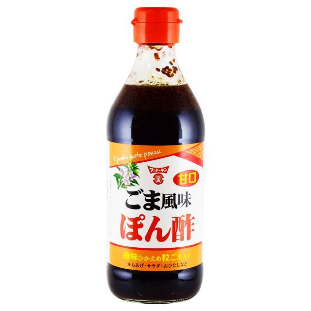 返品送料無料 フンドーキン 海外限定 甘口ごま風味ぽん酢360ml