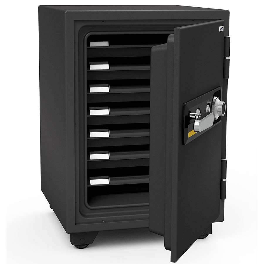 EIKO エーコー 耐火金庫 アラーム警報器付 アラーム警報器付 ダイヤル BSD-7A