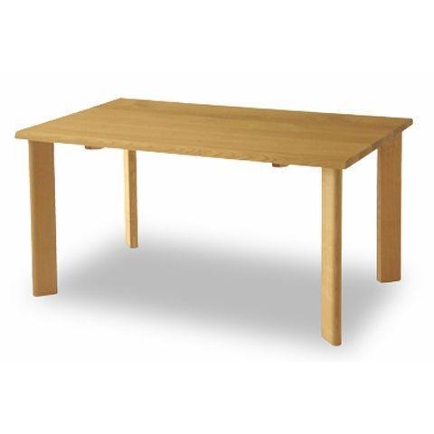 ダイニングテーブル ちぐさ 幅135cm WK302R 天然木 レッドオーク 無垢 角丸 飛騨産業 キツツキ 国産 日本製