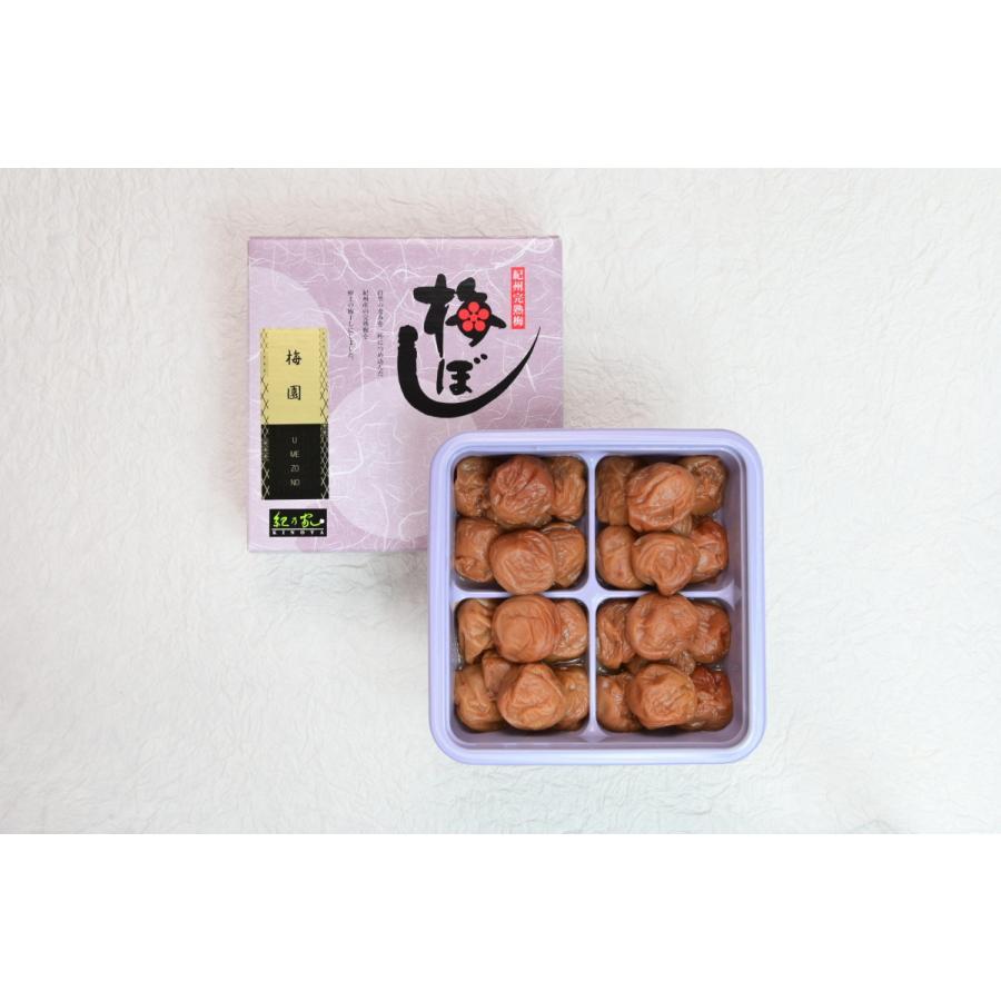 梅園 450g詰め(ギフト小)【塩分】約7%|kinoya-kawabe-foods