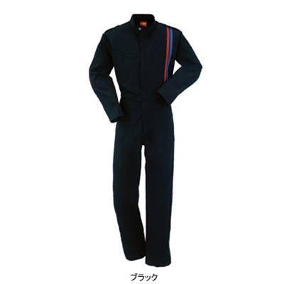 作業服 作業着 つなぎ DON 5900 ツナギ服 6L・ブラック5