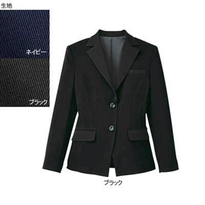 事務服 制服 ヌーヴォ SJ1004 ジャケット 17号・ブラック2