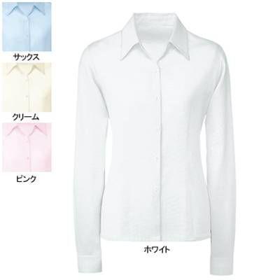 オフィスウェア 事務服 制服 ヌーヴォ FB7532 ブラウス(長袖) 21号〜23号