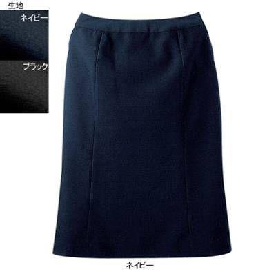 事務服 制服 ヌーヴォ FS4054 マーメードスカート 13号・ネイビー1