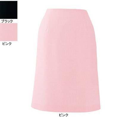 事務服 制服 ピエ S5511-38 Aラインスカート(57cm丈) 21号・ピンク