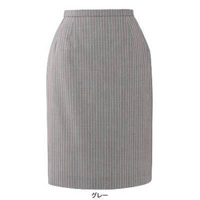 事務服 制服 ピエ S5540-90 スカート(52cm丈) 19号・グレー