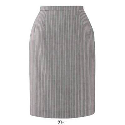 事務服 制服 ピエ S5540-90 スカート(52cm丈) 21号・グレー