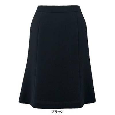 ピエ S9571-99 フレアースカート(57cm丈・ピンクドット) 11号・ブラック