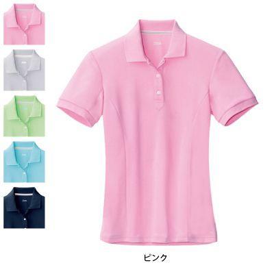 作業服 作業着 春夏用 ジーベック 6000 レディス半袖ポロシャツ 5号〜19号|kinsyou-webshop