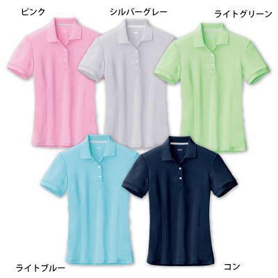 作業服 作業着 春夏用 ジーベック 6000 レディス半袖ポロシャツ 5号〜19号|kinsyou-webshop|02
