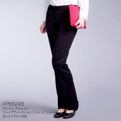 【事務服・制服・オフィスウェア】 事務服 制服 ヌーヴォ FP65243  パンツ 21号〜23号