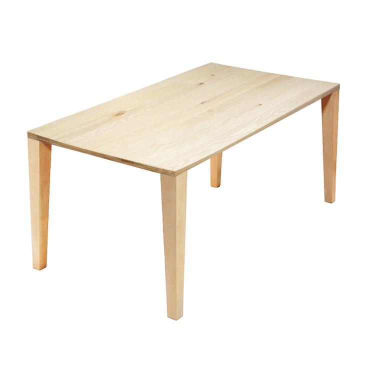 【180×90cm】【オーク×木製4本脚】324通りカスタムオーダーダイニングテーブル