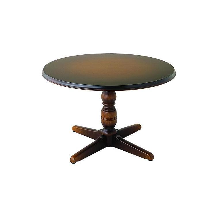 【DK341】テーブル φ120×H70.5×T4cm 円形 丸 穂高 WINDSOR 飛騨産業