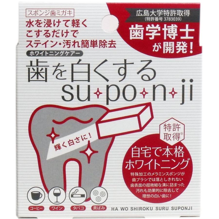 歯 メラミン スポンジ