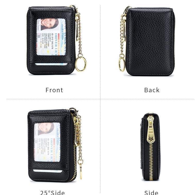 カードケース レディース メンズ じゃばら 大容量 本革 財布 小銭入れ コンパクト 磁気防止 薄型 スリム クレジットカード 14ポケット クリスマス ギフト kintatsu02 07