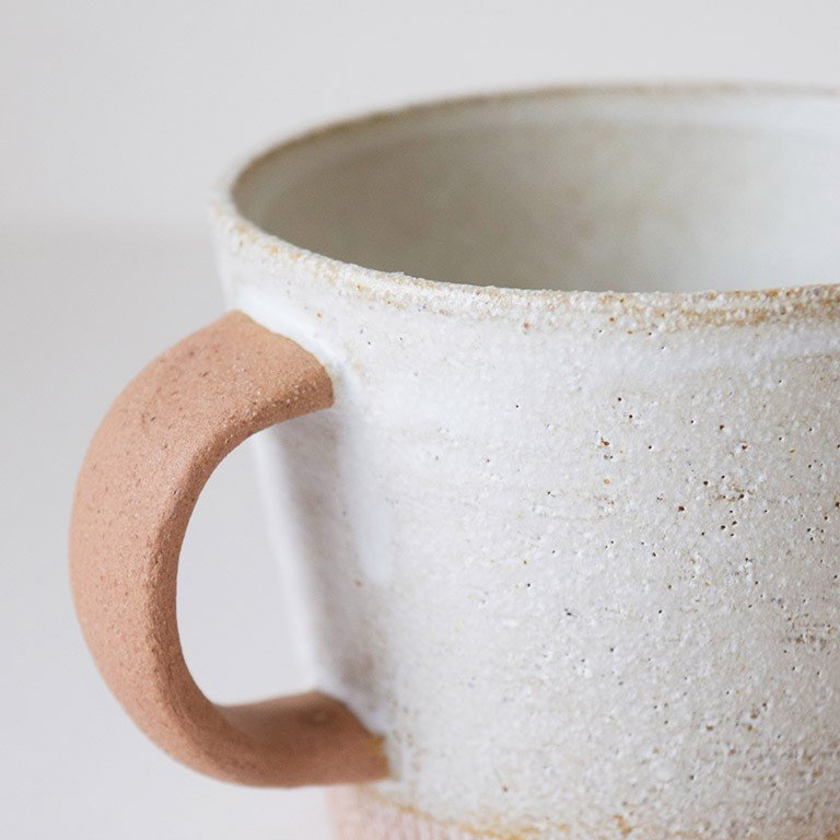 マグカップ デカマグ削り ソイミルク 陶器 大きいマグカップ 350cc 食器 おしゃれ 和カフェ おうち カフェ 美濃焼 日本製|kintouen|06