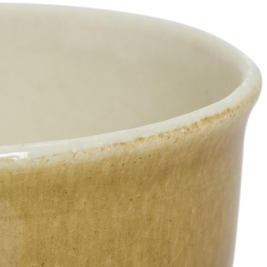 マグカップ 陶器 クシ目削ぎ ビックカップ マスタード 大きいマグ 380cc 食器 おしゃれ 美濃焼 日本製|kintouen|03