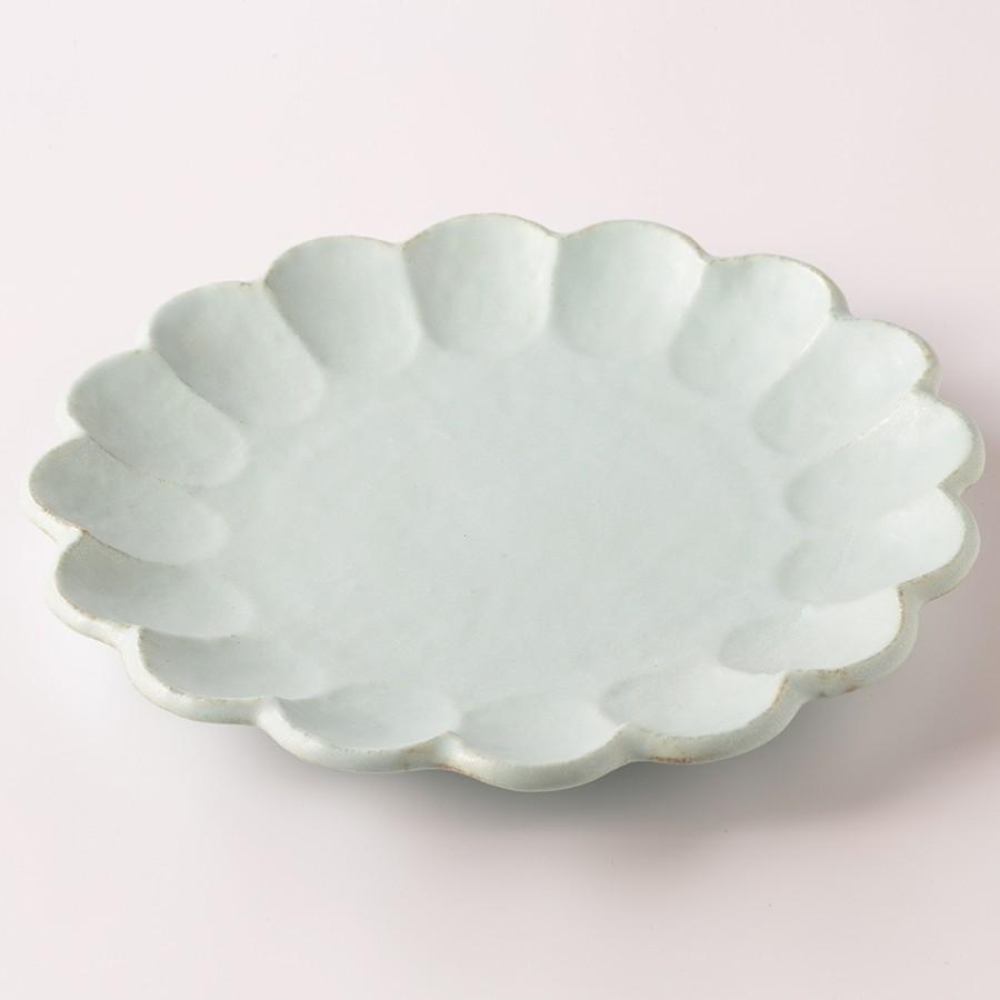大皿 陶器 人気 リンカ りんか 小兵 24プレート 白練 食器 おしゃれ 美濃焼 日本製|kintouen|08