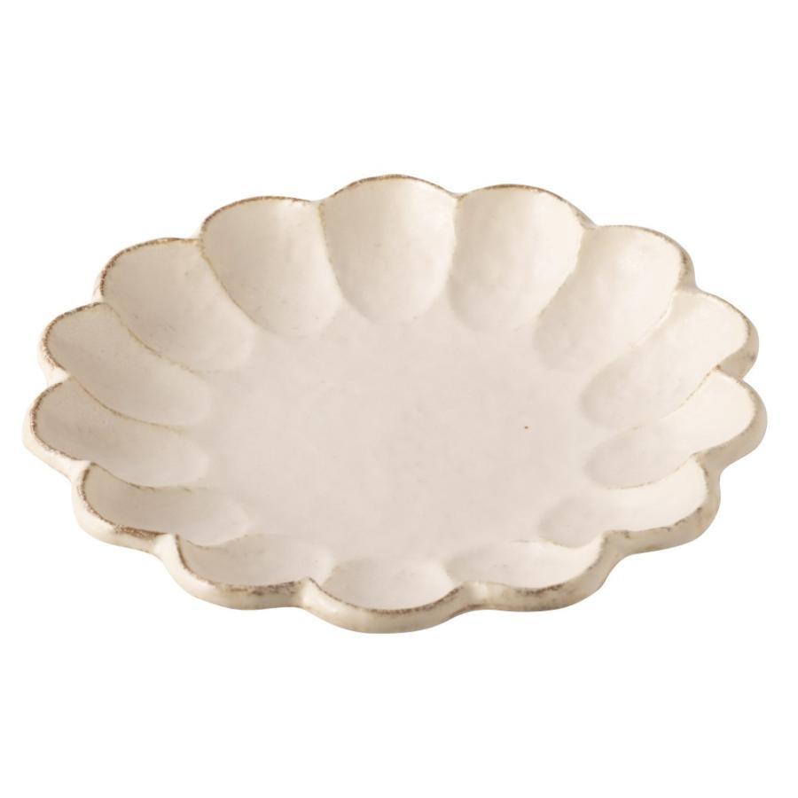 大皿 リンカ 輪花 21 プレート かわいい 食器 おしゃれ 美濃焼 日本製 食器 kintouen 06