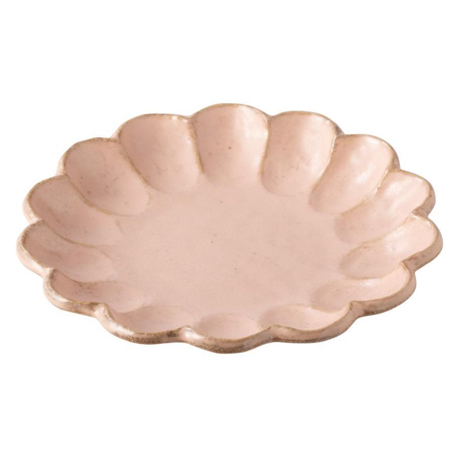 大皿 リンカ 輪花 21 プレート かわいい 食器 おしゃれ 美濃焼 日本製 食器 kintouen 07
