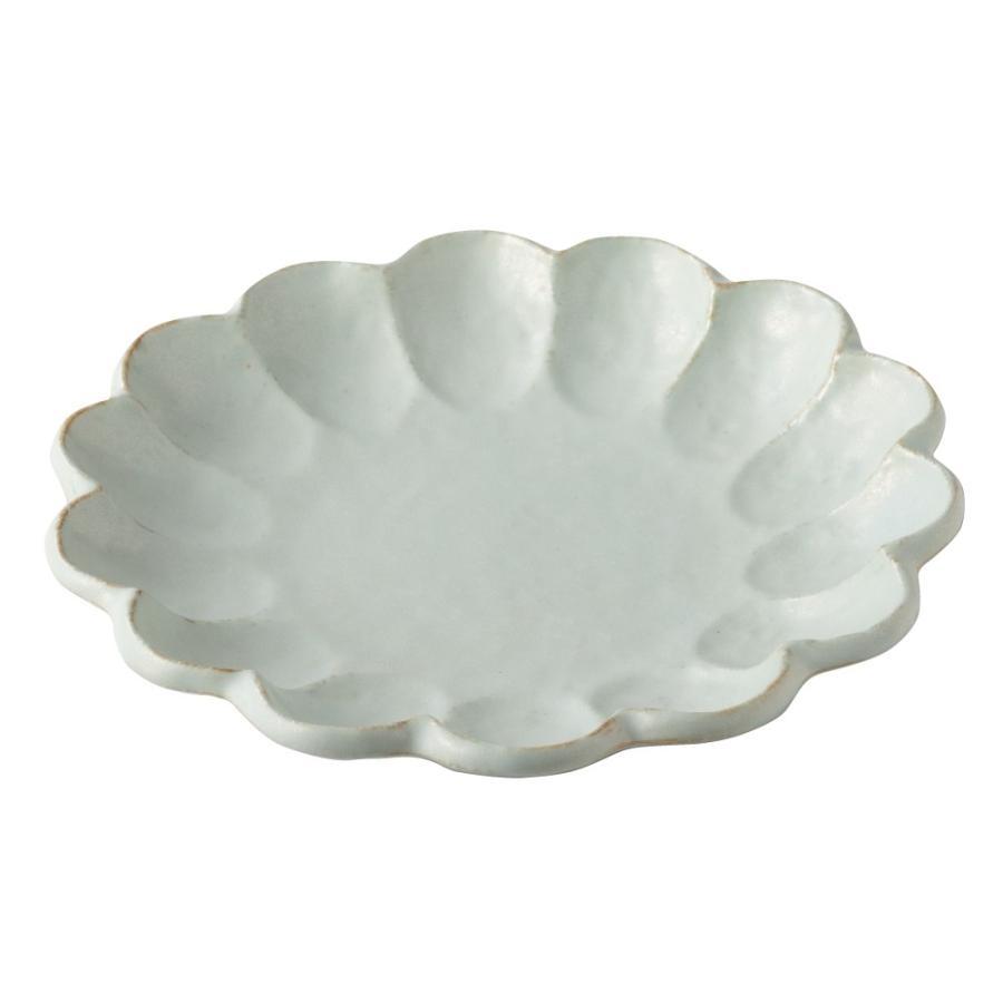 大皿 リンカ 輪花 21 プレート かわいい 食器 おしゃれ 美濃焼 日本製 食器 kintouen 08