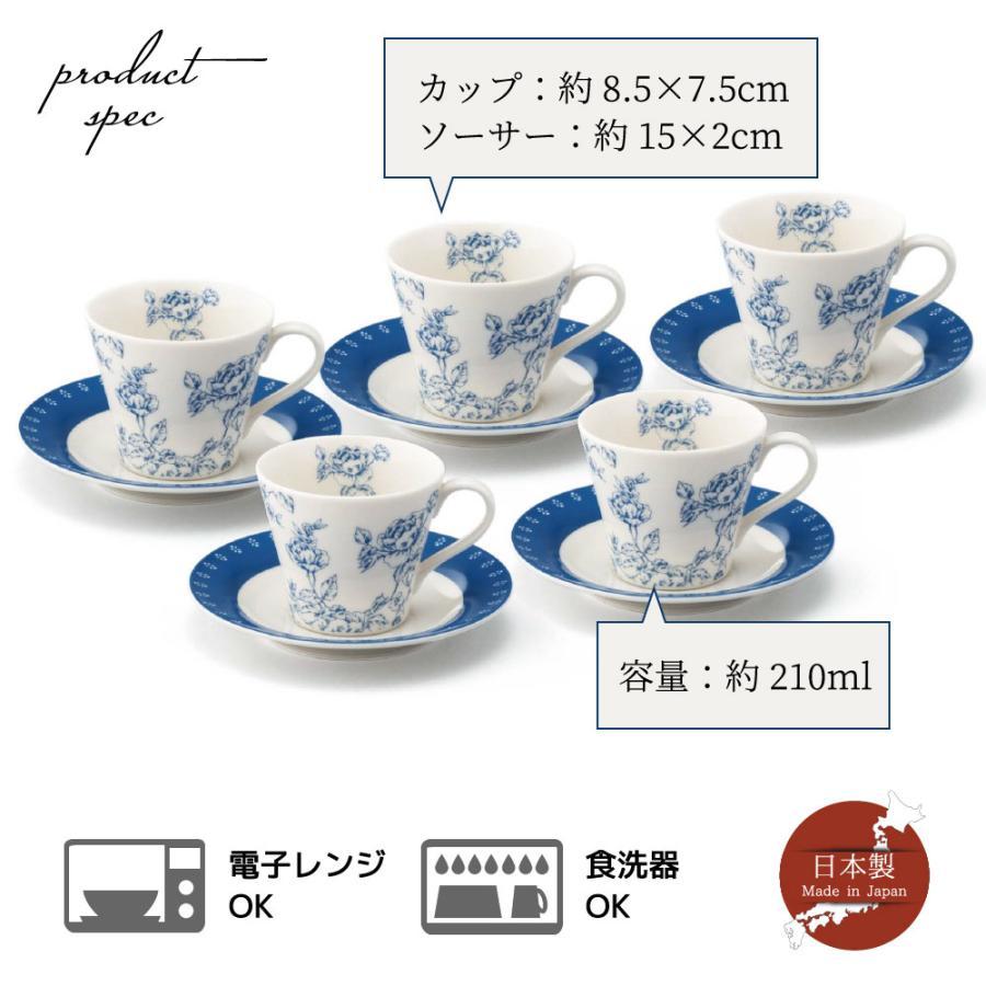 ローラアシュレイ 食器 おしゃれ 5客コーヒーセット|kintouen|03